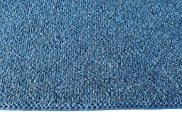 3\'X5\' - BRIGHT BLUE MULTI - Indoor/Outdoor Area Rug Carpet, Runners & Stair Treads with a Non-Skid Latex Marine backing and Premium Nylon Fabric FINISHED EDGES . Olefin , 3/16\