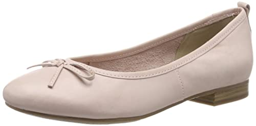 Tamaris Women's 1 1 22114 22 Ballet Flats, Pink (Powder 508