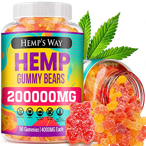 Hemp-Gummies-200000mg-Stress-Insomnia-Anxiety-Relief-Made-in-USA-Tasty-Relaxing-Herbal-Gummies-Premium-Extract-Mood-Immune-Support-Omega-3-6-9-Complex