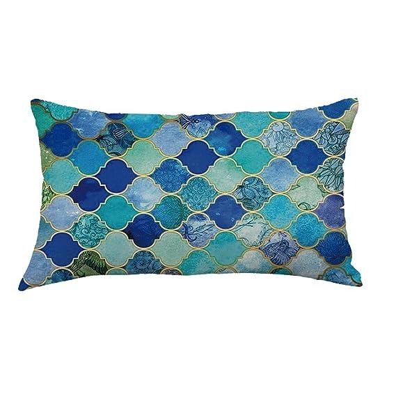 Amazon.com: Funda de almohada Hurrybuy de lino para ...
