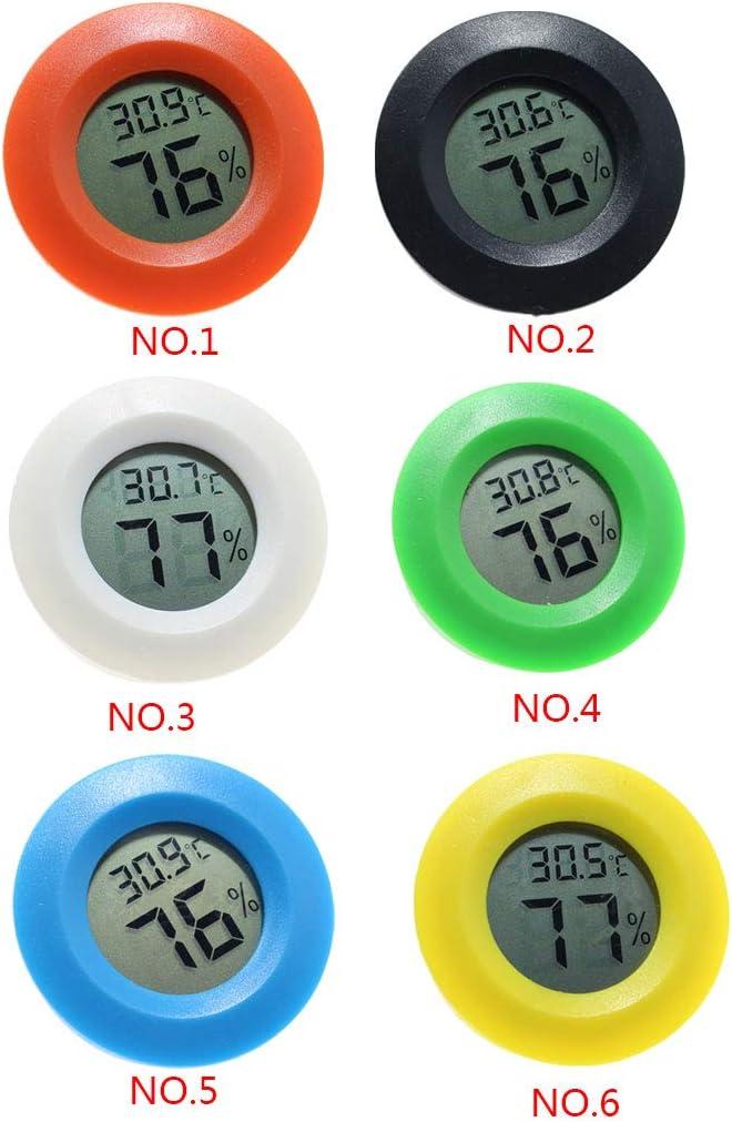 Yangge Yujum Mini Practical Digital-Hallenrunde Thermometer Hygrometer Temperatur und Feuchtigkeitsmessger/ät LCD Display