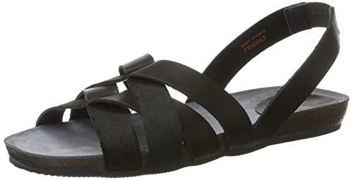 Fred de la Bretoniere Riemchen amazon-shoes neri Estate De Italia Para La Venta O5FRFc9