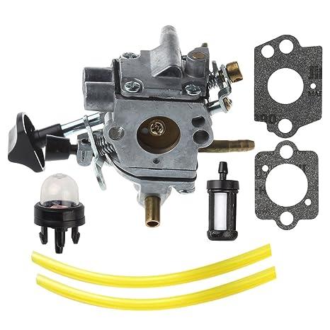 Buckbock C1Q-S183 Carburador con Filtro de Combustible bujía ...