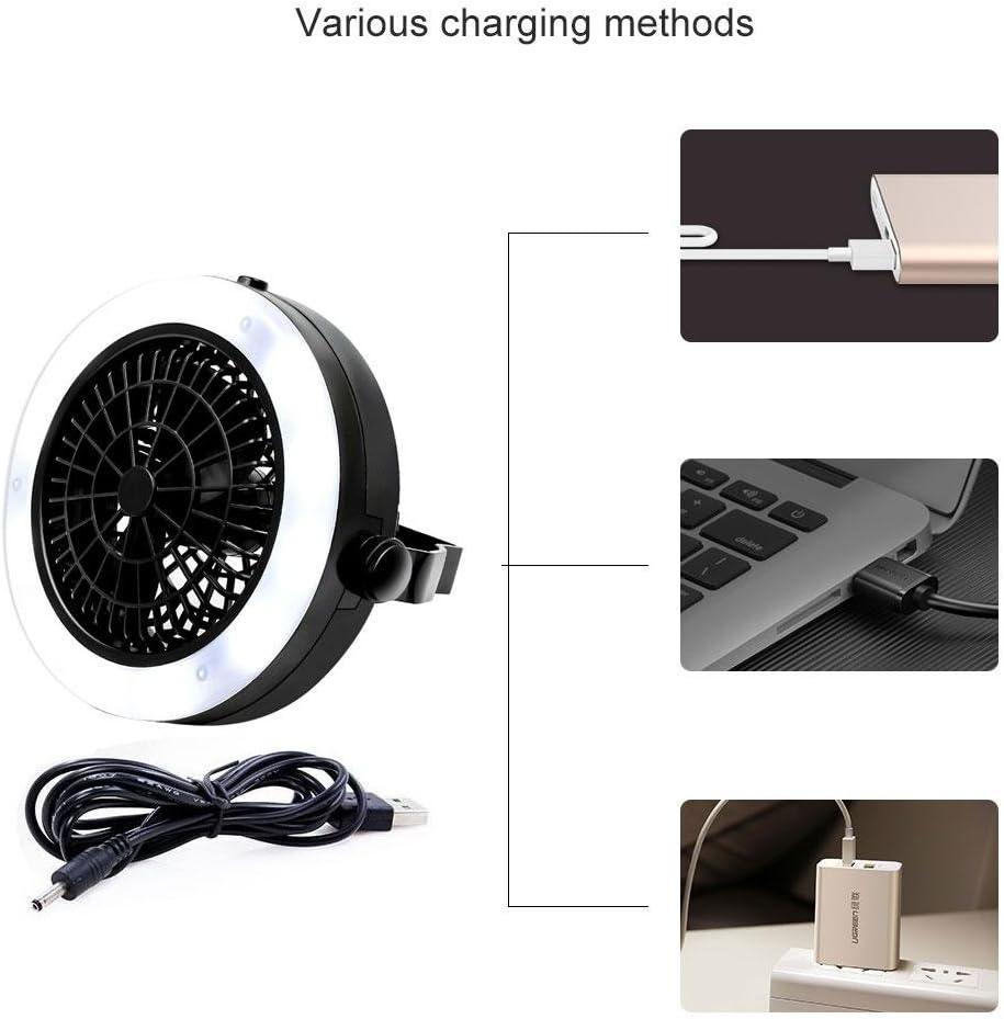 KOBWA Farol portátil 3 en 1 LED para acampada, USB y batería ...