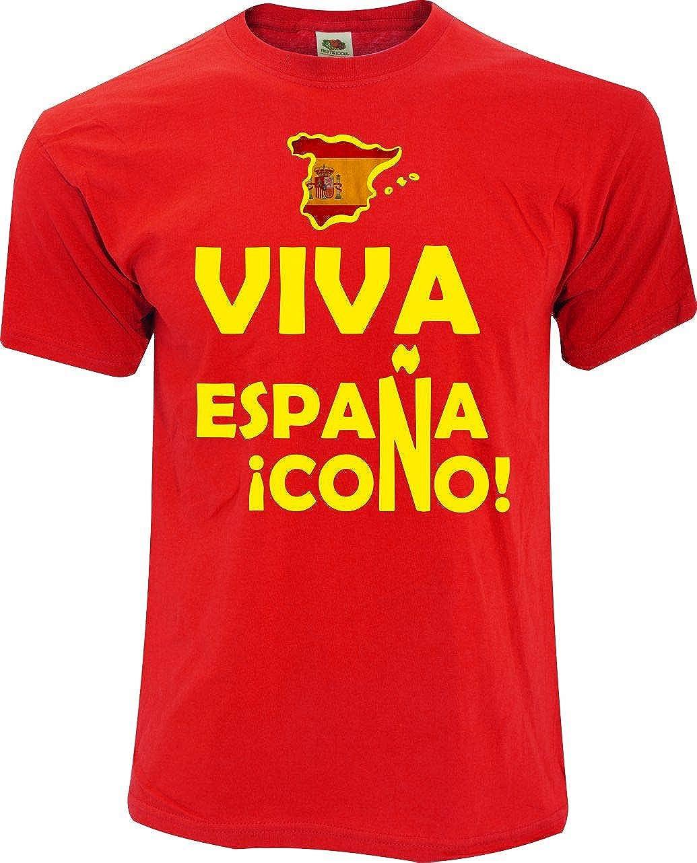 Desconocido Camiseta Viva ESPAÑA: Amazon.es: Ropa y accesorios
