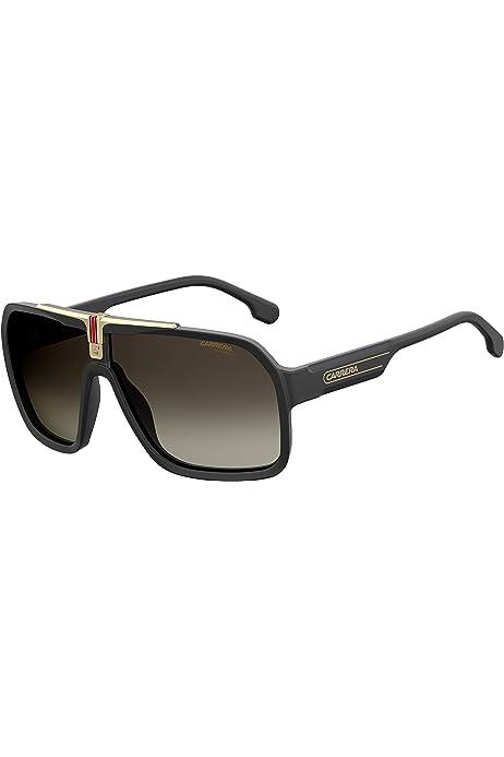 Amazon.com: Carrera 33/S Aviator Sunglasses BLACK: Carrera ...