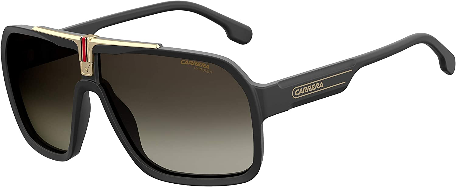 Carrera mens Carrera 1014/S Shield Sunglasses