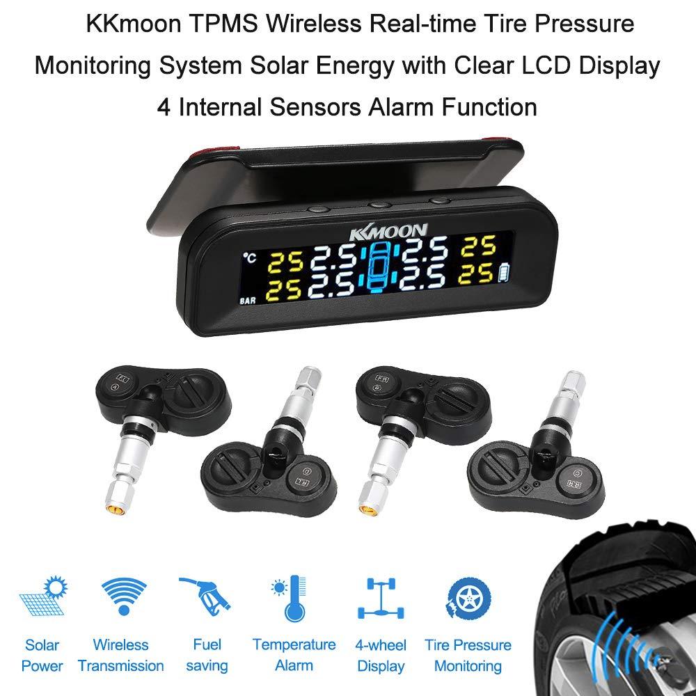 KKmoon TPMS Sistema de Monitoreo de Presión de Neumáticos de ...