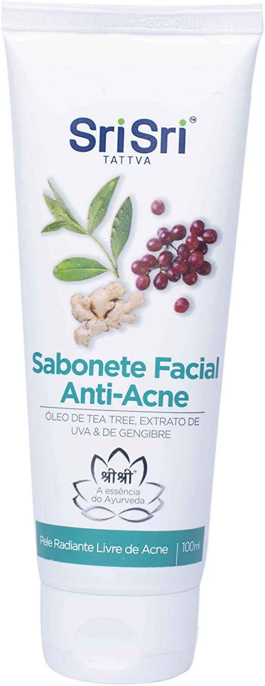 Sabonete Facial Anti-Acne, Sri Sri Tattva