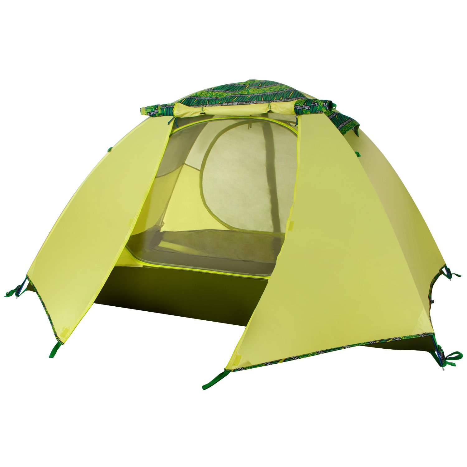 Amazon.com  WolfWise 2-Person 3-4 Season Backpacking Tent with USB LED Light String Green  Sports u0026 Outdoors  sc 1 st  Amazon.com & Amazon.com : WolfWise 2-Person 3-4 Season Backpacking Tent with ...