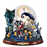 Disney Tim Burton's The Nightmare Before Christmas Illuminated Musical Snowglobe by The Bradford Exchange