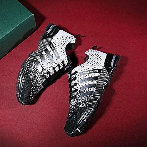 for Shoes Fashion Breathable Walking Sneakers Outdoor Tennis Women Jogging Running FZUU Gray Men Lovers YvnzqdRa