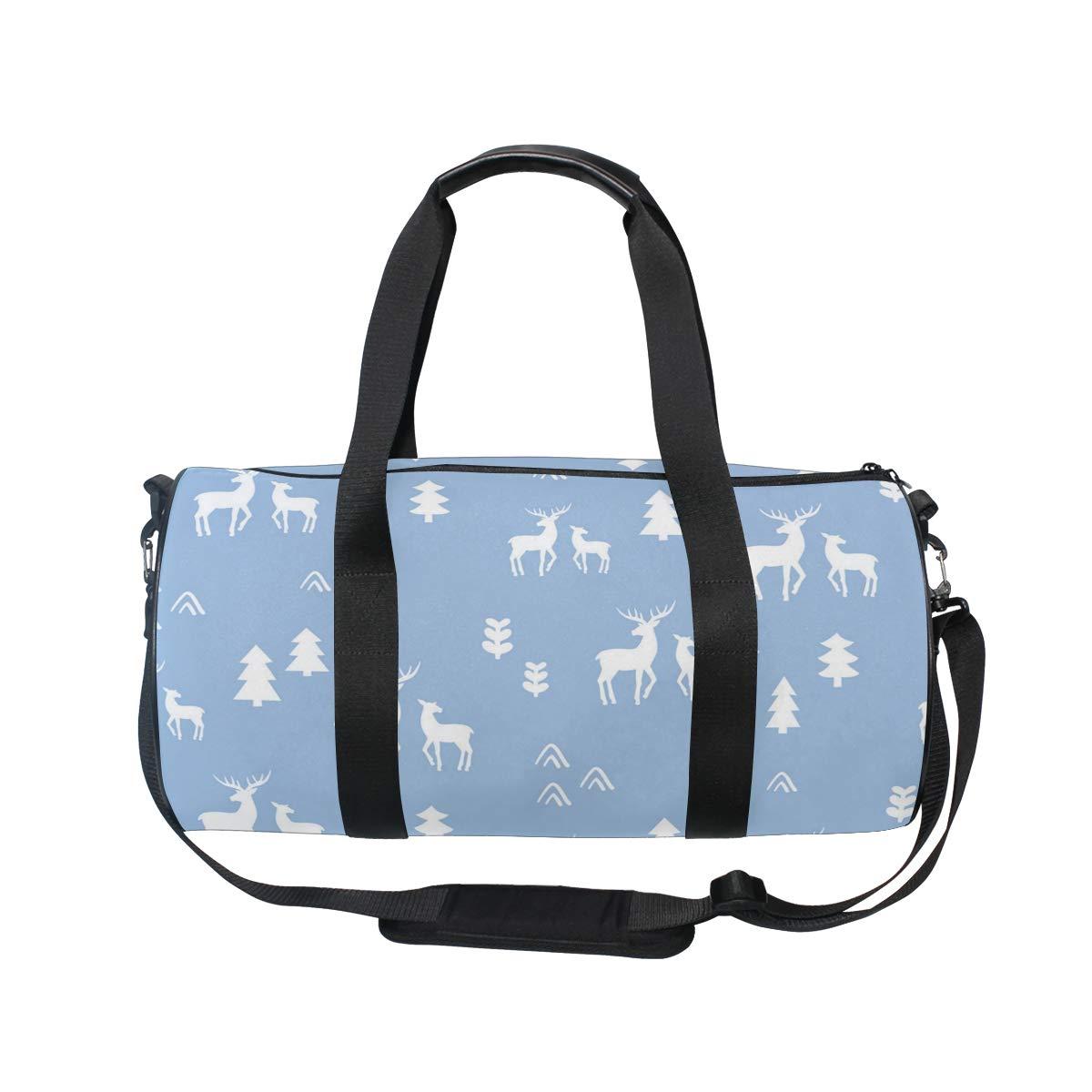 Waterproof Shoulder Bag. Led Outdoor Christmas Tree Popular casual fitness bag,Non-Slip Wearable Crossbody Bag