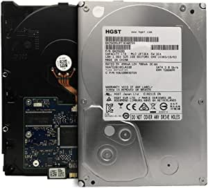 HGST Ultrastar A7K2000 HUA722010CLA330 (0A39289) 1TB 32MB Cache 7200RPM SATA 3.0GB/s Internal Desktop Hard Drive - 1 Year Warranty (Renewed)