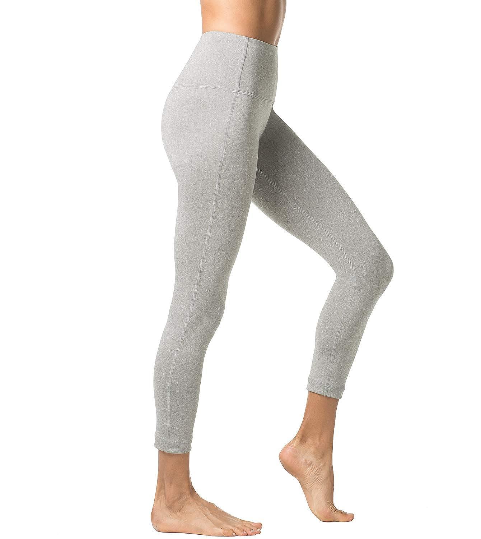 TALLA L/40-41 (Cintura 76-86, Pernera 66.5 cm). LAPASA Pantalón Deportivo de Mujer, Malla para Running, Yoga y Ejercicio. L01