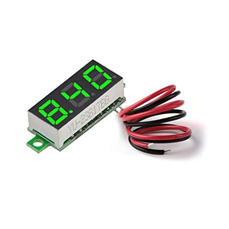 Amazon.com : Liobaba Digital Voltage Meter, DC3.50-30V 0.28 ... on tube terminals, tube assembly, tube fuses, tube dimensions,