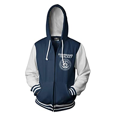 Guardians of the Galaxy Officially Licensed Varsity Zip Hoodie