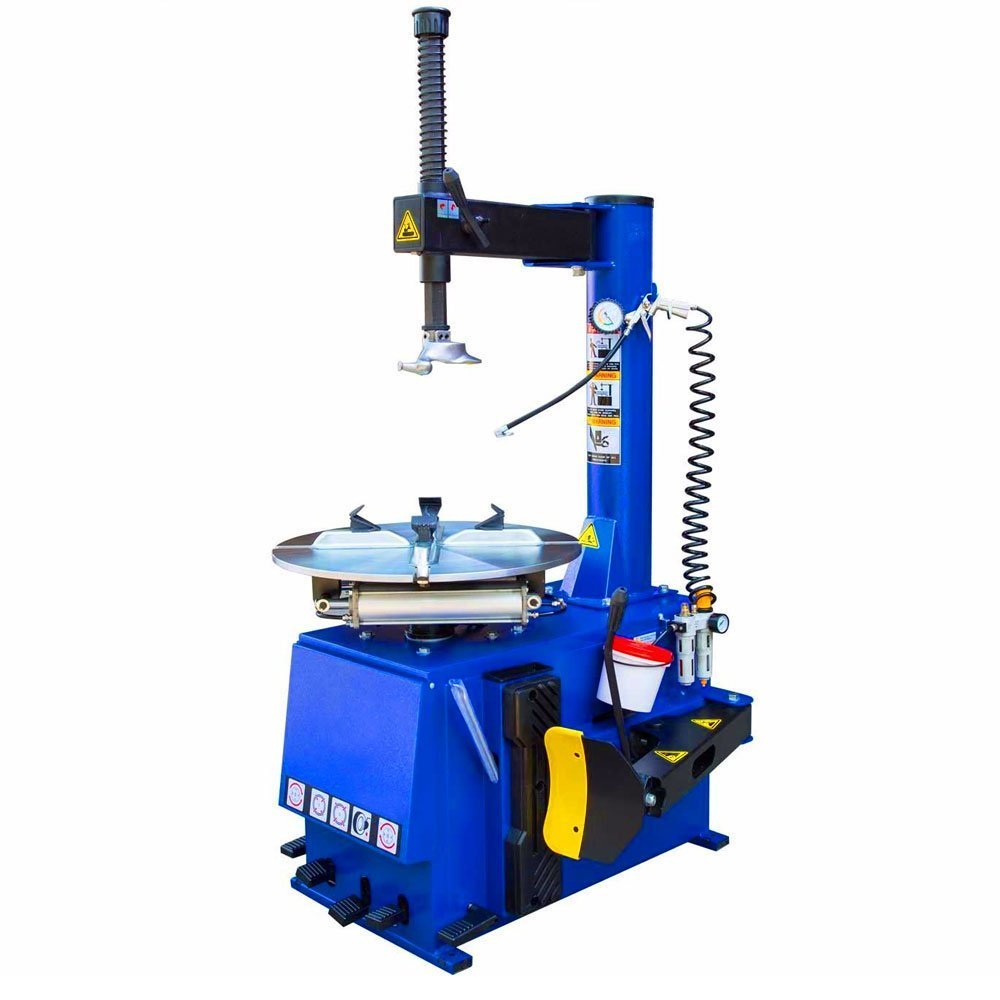 Single 1.5HP Tire Changer Wheel Changers Machine 560 with New Double Foot Pedal w/ 12 Month Warranty 110V
