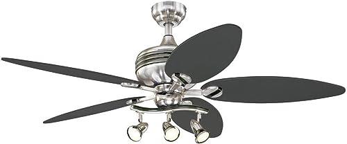 Ciata Lighting 52-Inch Xavier II Indoor Ceiling Fan
