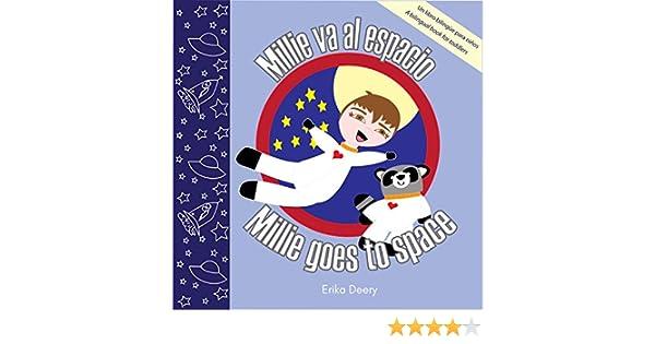 Millie va al espacio / Millie goes to space: Un libro bilingüe ...
