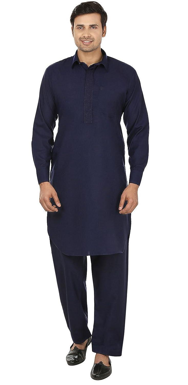 MapleClothing Maple Clothing Herren Pathani Kurta Salwar Indische ...