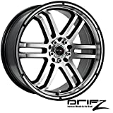 rims for 08 pontiac g5 - Drifz FX 17x7.5 Silver Wheel / Rim 5x110 & 5x115 with a 38mm Offset and a 73.00 Hub Bore. Partnumber 207MB-7754338