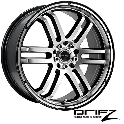 Drifz FX 17×7.5 Silver Wheel / Rim 5×110 & 5×115 with a 38mm Offset and a 73.00 Hub Bore. Partnumber 207MB-7754338