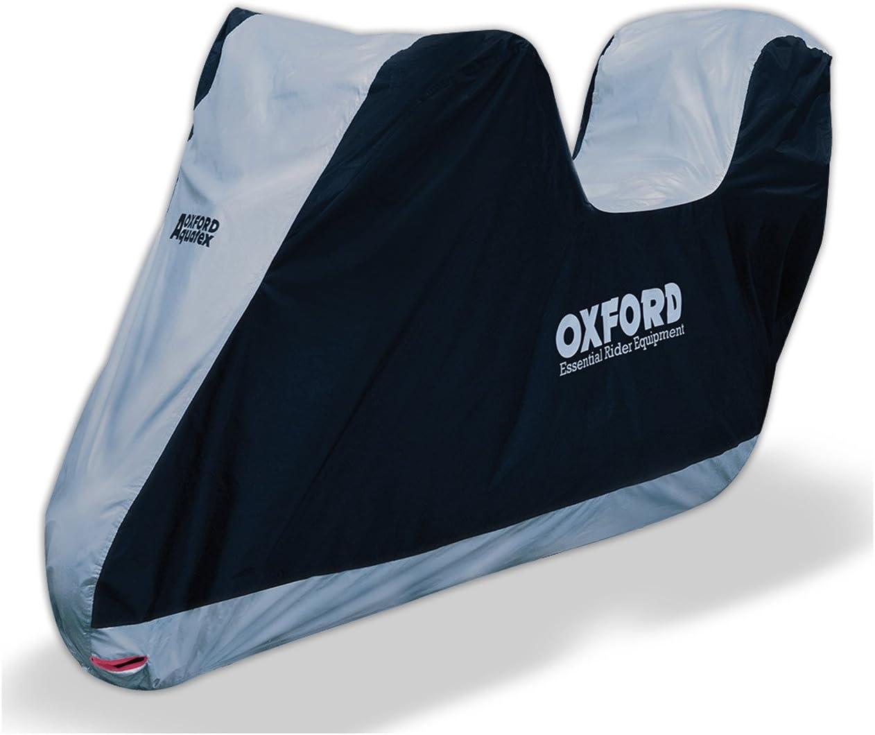 Funda Protectora para Moto Aquatex de Oxford, Azul, L