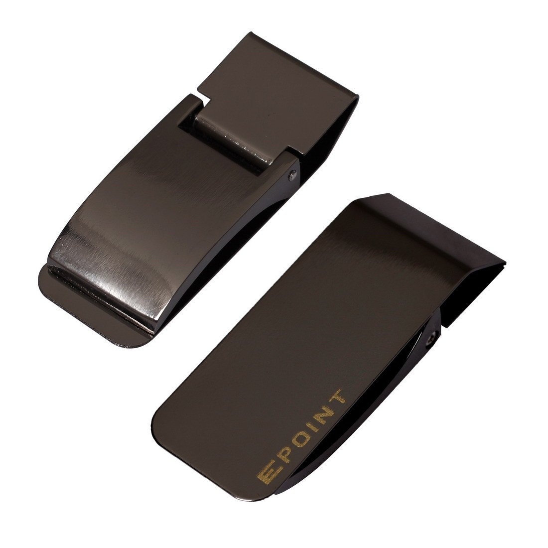 Epoint Mens Fashion Various Smart Mens Money Clip Card Holder Stainless Steel EQA13B02
