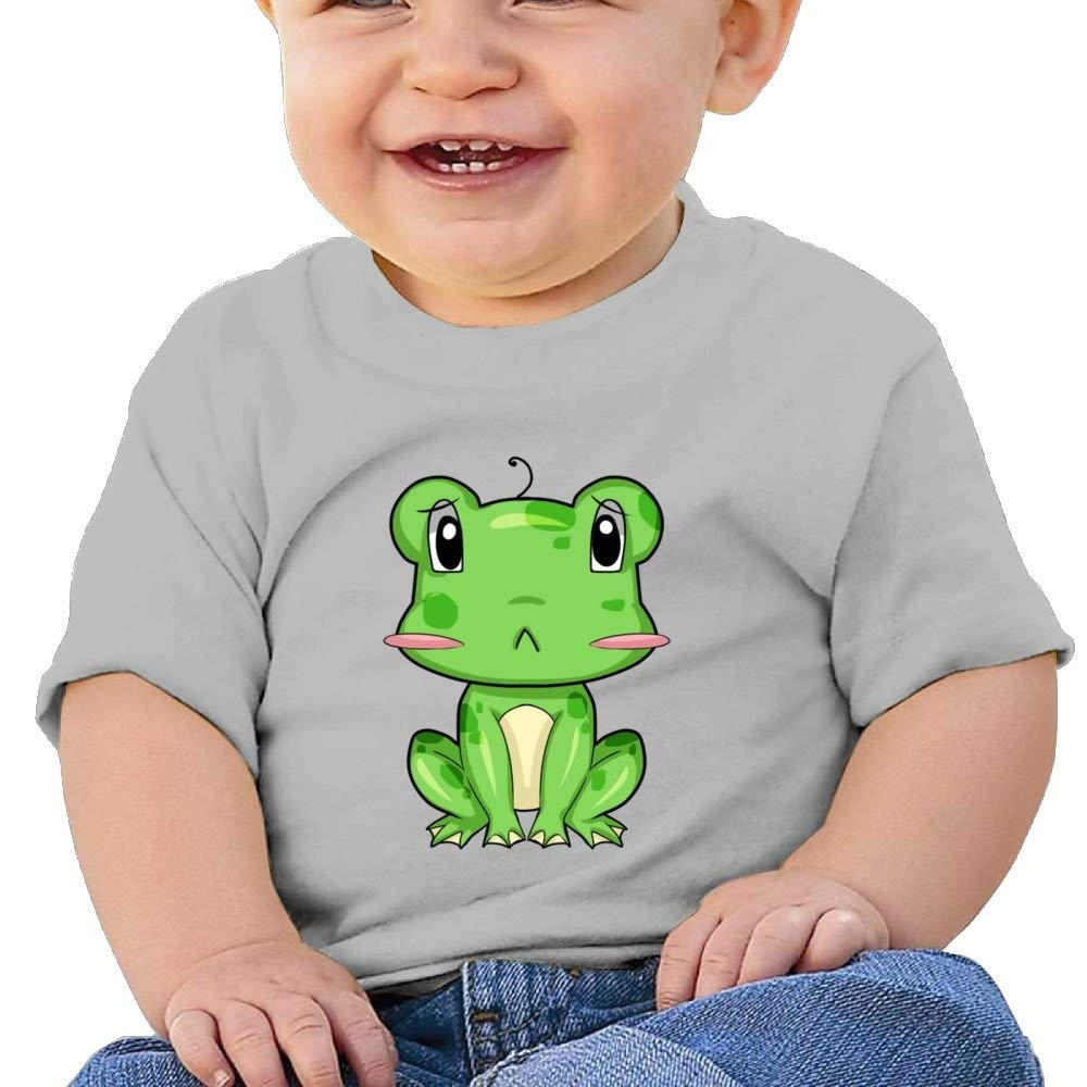 Moniery Cute Short-Sleeves T Shirt Funny Little Frog Birthday Day Baby Boy Kids