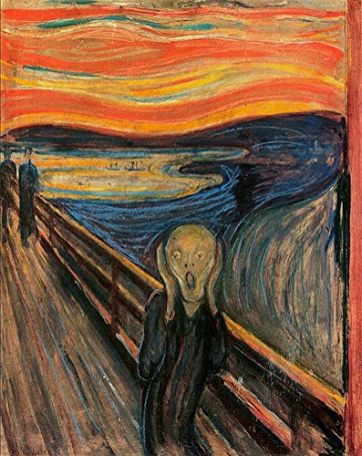 Counted Cross Stitch Patterns: The Scream by Edvard Munch (Great Artists ()