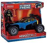 super hero robin fisher price toy - Fisher-Price Hero World DC Super Friends Transforming Batmobile And Batman