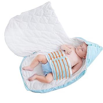 LINAG Sacos Dormir para Bebé Infantil Swaddling Envolver Jumpsuit Ropa Escalada Conjoined Piernas Escalada Retroceso Siameses Cobertura Durante Niños ...