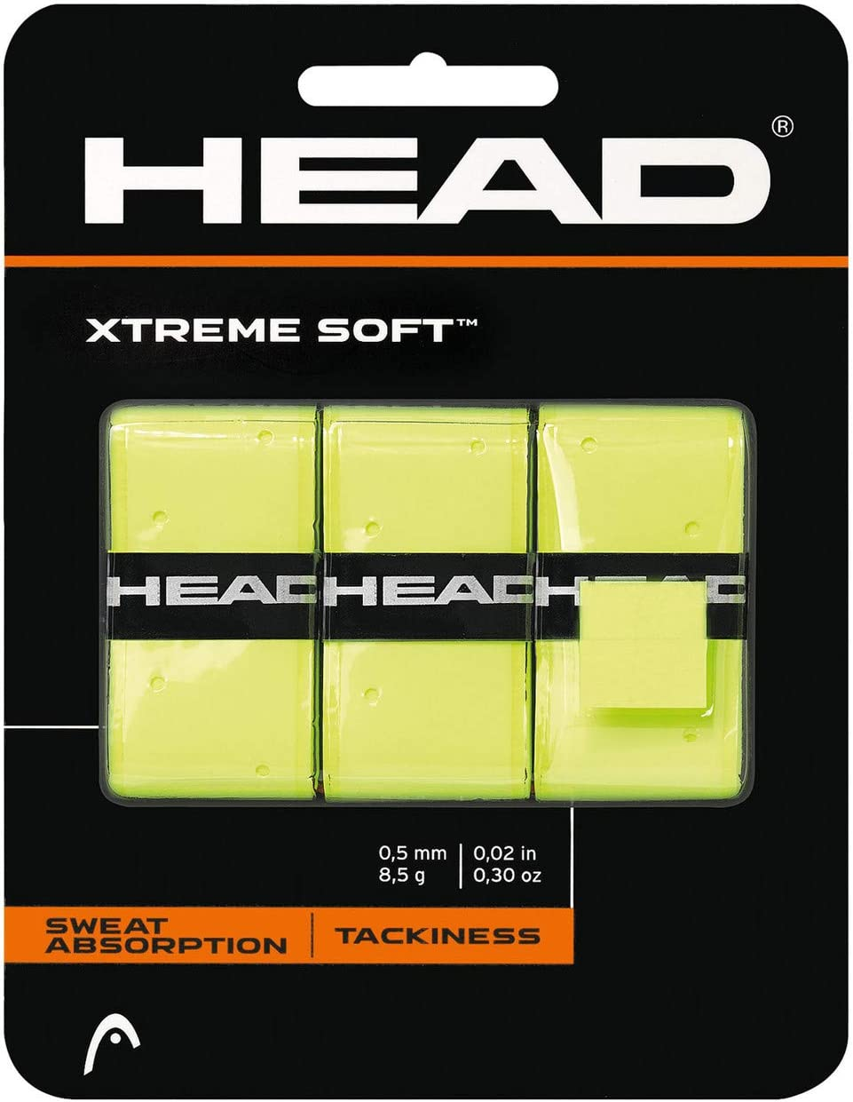 Head Xtremesoft Overgrip de Tenis, Unisex Adulto, Negro, S: Amazon ...