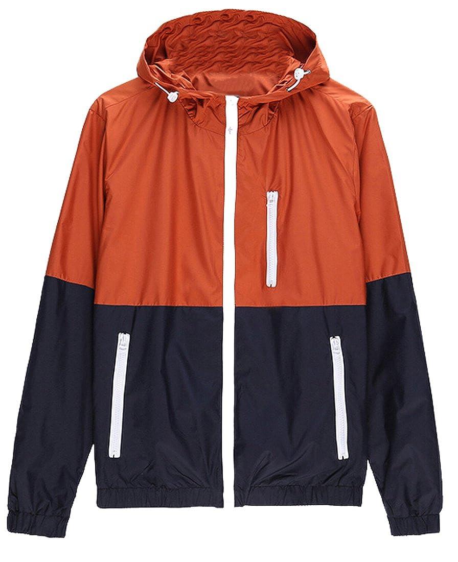 GAGA Men Autumn Fashion Thin Windbreaker Jacket