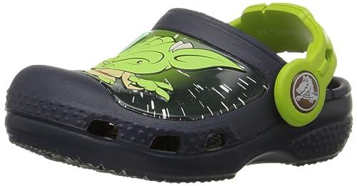 613f5b0403e55b crocs Kids  CC Star Wars Yoda Clog (Toddler Little Kid)