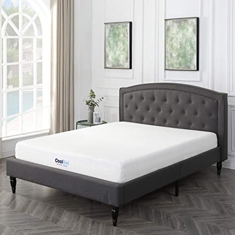 Image Unavailable Amazon.com: Classic Brands Cool Gel Ventilated Memory Foam 8