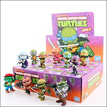 Tortugas Ninja Minifigura Action Vinyl 8 cm Wave 2 - Una ...