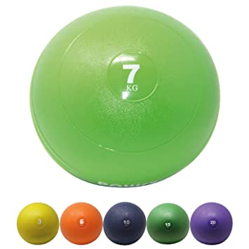 035c0af14acdc POWRX - Balón medicinal - Slam Ball Balón Medicinal 3 - 20 kg I Slam Ball