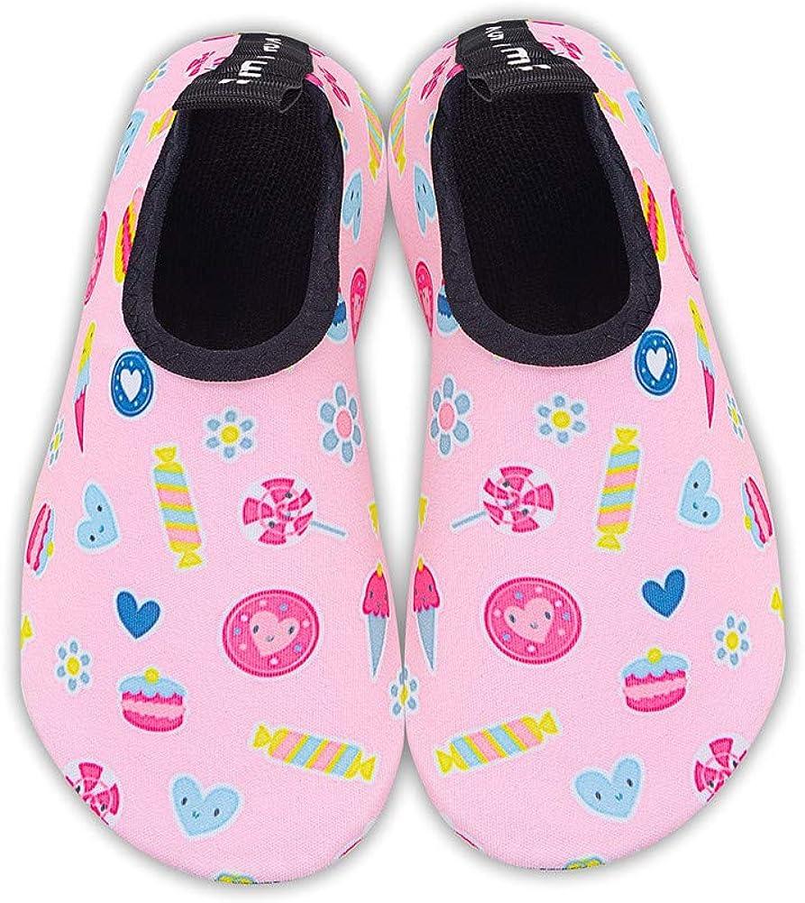 Kids Beach Swim Shoes Water Sport Shoes Barefoot Skin Boys Girls Baby Non-Slip Quick Dry Barefoot Aqua Socks Pool Surfing Yoga Garden