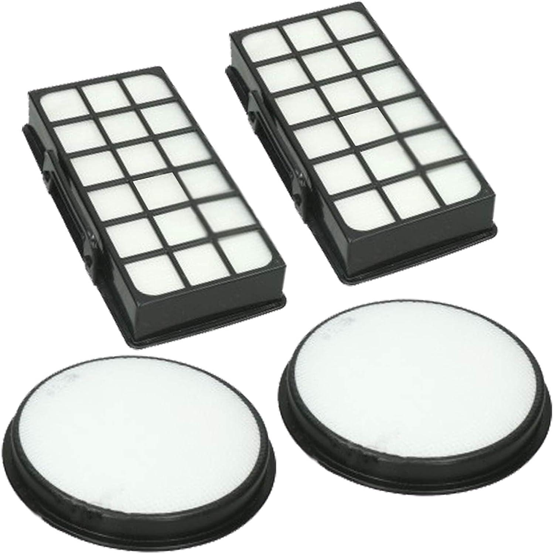 Spares2go Kit de filtro de filtración para aspiradora Rowenta (2 ...