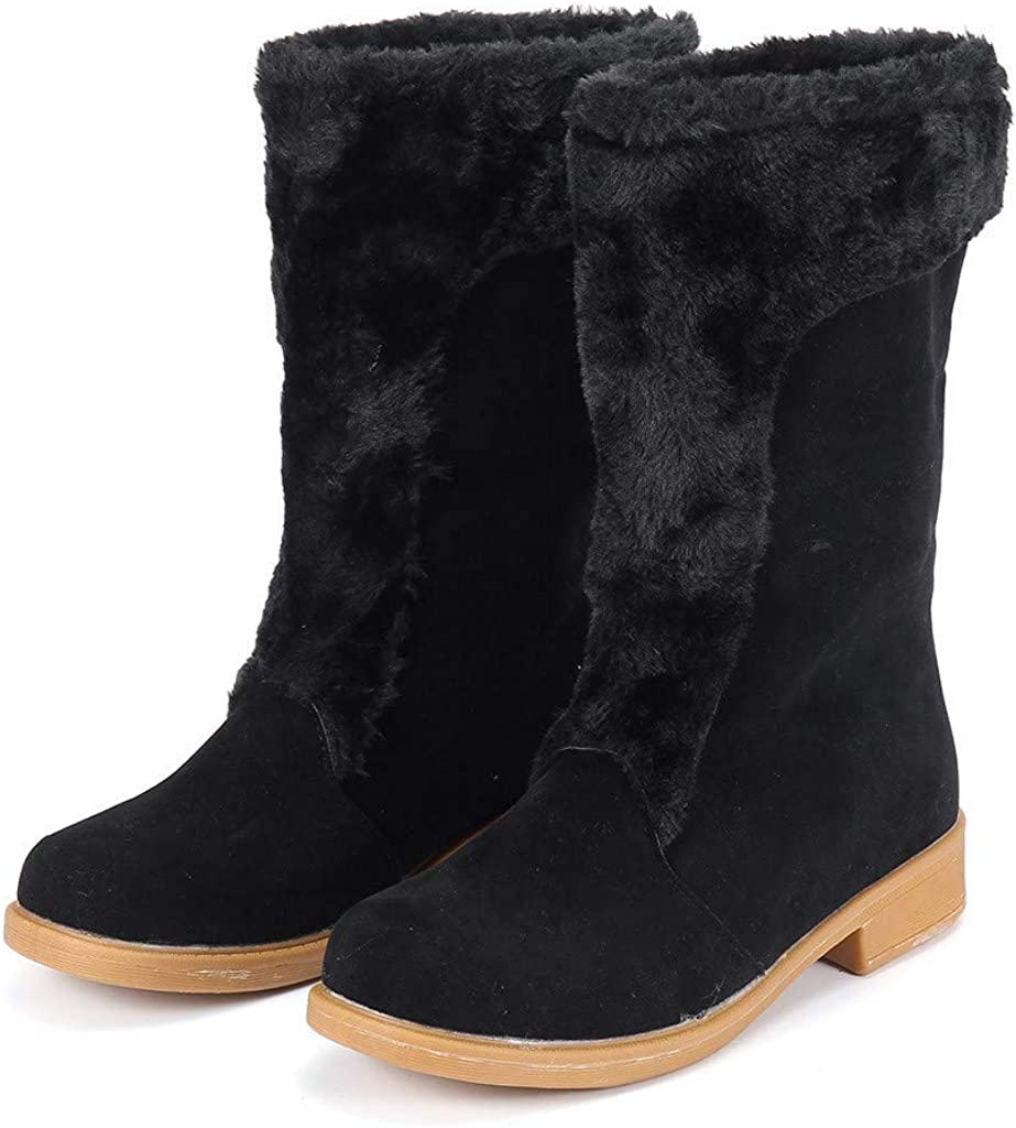 Ladies Winter Warm Shoes Women Girls Snow Boots Short Bootie Women Girl/'s Snow Boots Short Bootie HHmei HHmei/_Womens/_Boots/_8Dec17/_204
