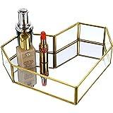 dormitorio ba/ño organizador de encimera plata bandeja para aparador Sumnacon Bandeja de tocador cosm/ética para espejo de maquillaje