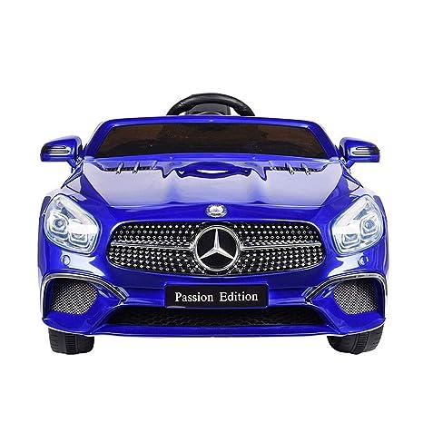 Bseion Mercedes-Benz Control remoto Coche deportivo Vehículo eléctrico de cuatro ruedas para niños Un