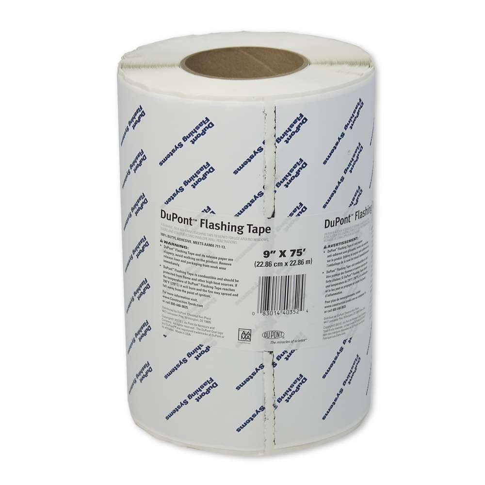 DuPont Tyvek Flashing Tape - 9'' x 75' - 1 Roll