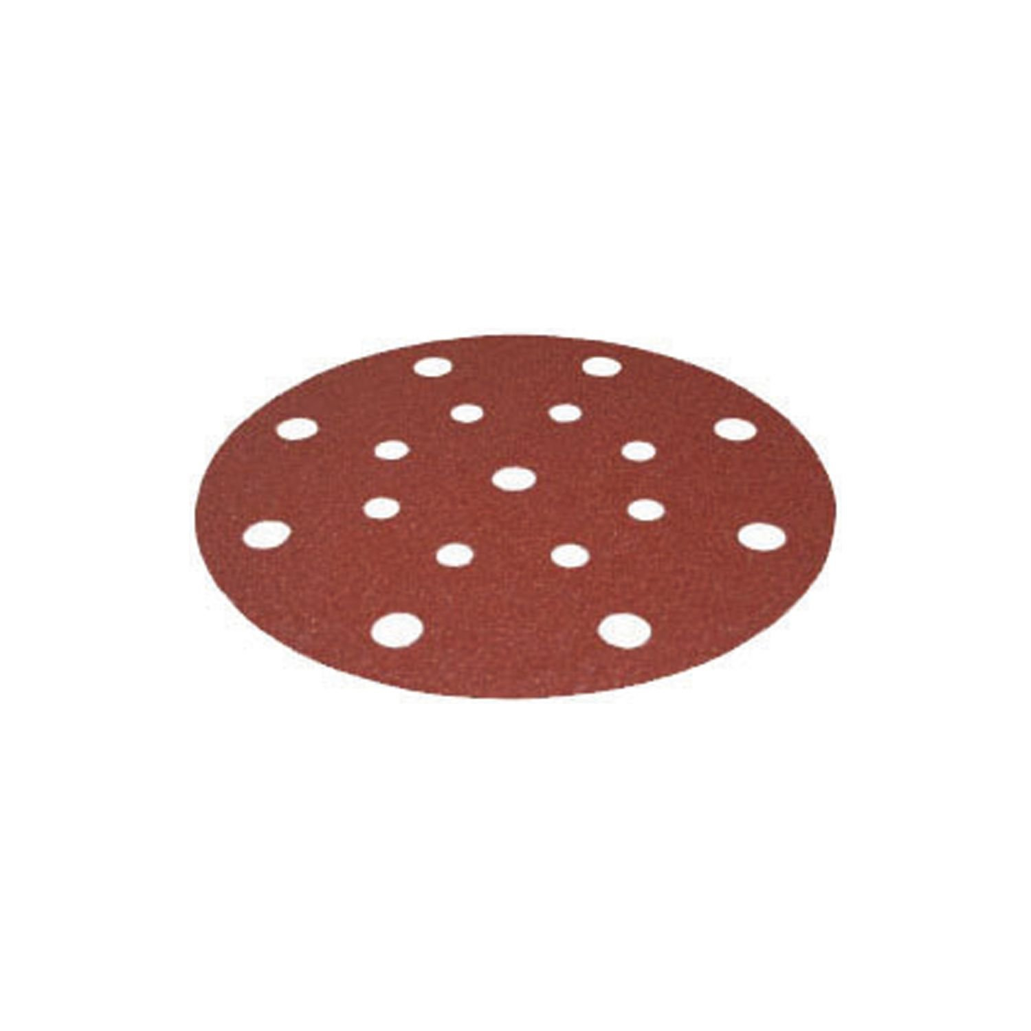 Festool 499121 P120 Grit Rubin 2 Abrasives for RO 150/ETS 150 Sander, 50-Pack