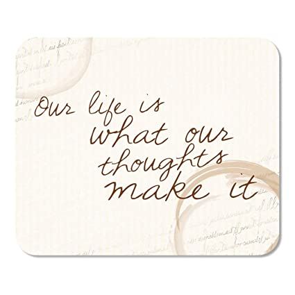 Amazon com : Suike Mousepad Computer Notepad Office Quote