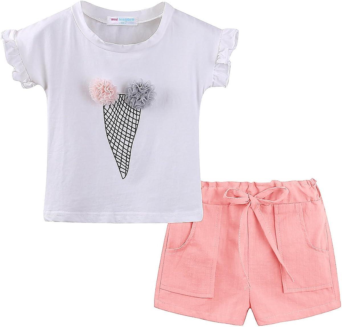 Mud Kingdom Cute Girl Outfits Summer Holiday Fun