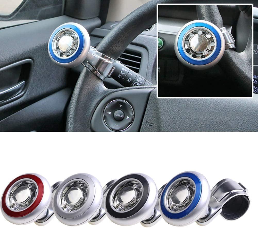 Andux Land Steering Wheel Knob Vehicle Steering Booster Universal Car Steering Ball Steering Handle Ball QC//ZLQ-01 Black