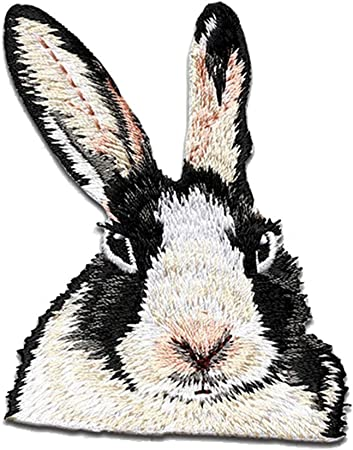 Rabbit Applied patch embroidery patch several colors